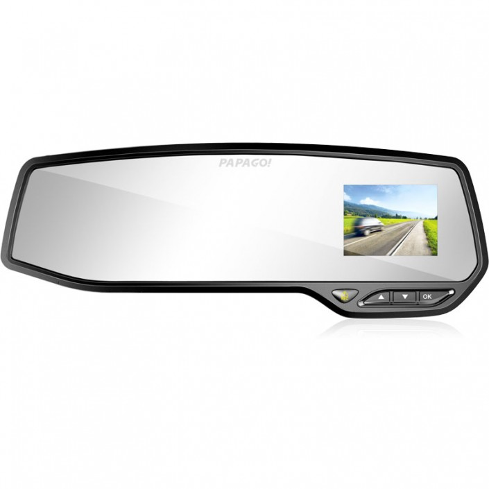 PAPAGO, dashcam, 1080HD dashcam, rearview mirror