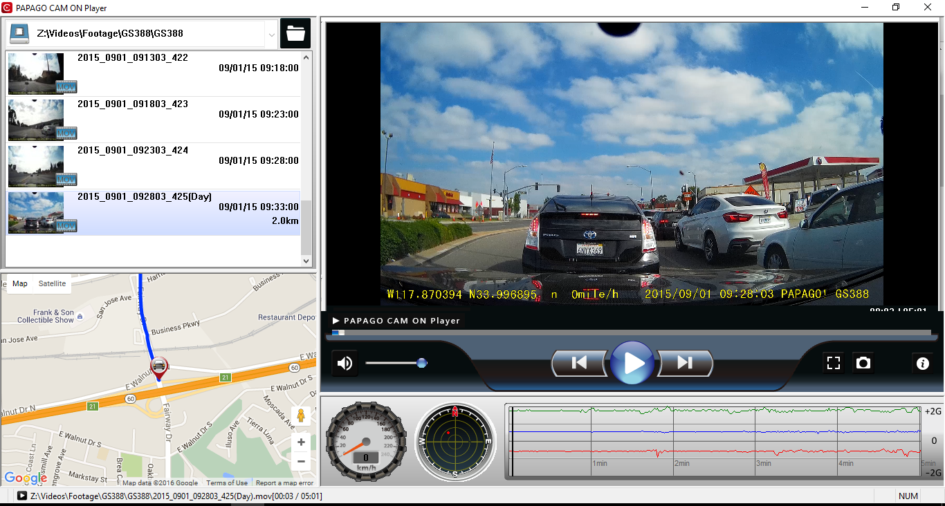 PAPAGO! | PAPAGO! Inc Creates Media Player with Map and Footage